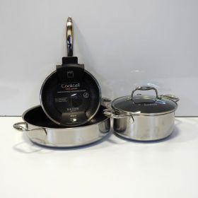 חבילת מחבתות וסירים של cookcell