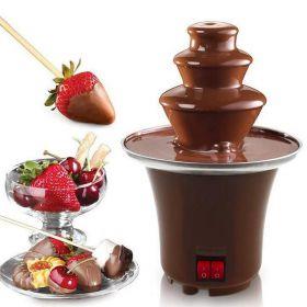 מפל שוקולד ביתי