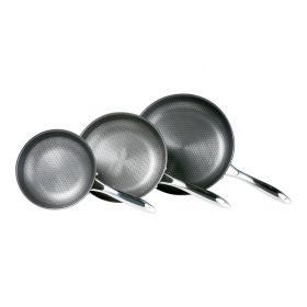 סט שלוש מחבתות cookcell